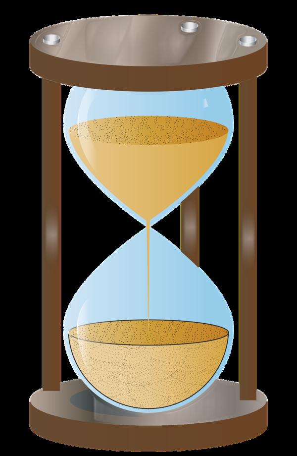 砂時計です